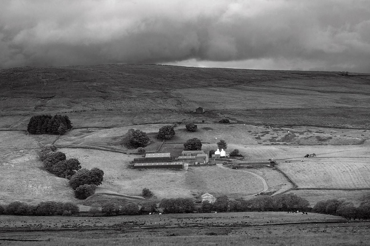 Catlow Farm, Near Source of the R. Hodder, Slaidburn - Ref:6469