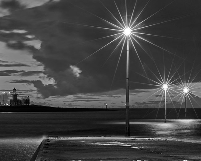 Fleetwood Lighthouse, From Knott End - Ref:05910