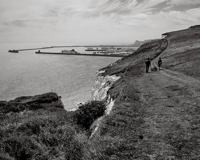 Walking the White Cliffs Of Dover - Ref:01510