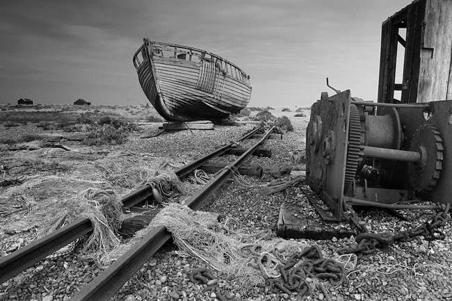 Abandoned Slipway, Dungeness - Ref 3301