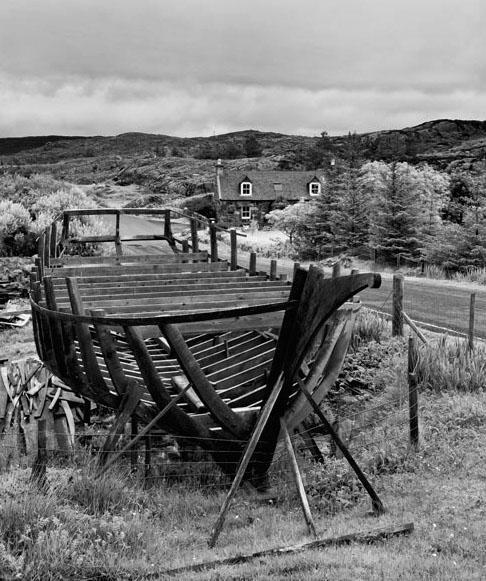 The House Of John MacAulay, Boat Builder, Isle Of Harris