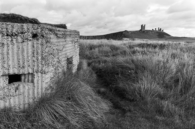 WWII Pill Box Nr Dunstanburgh Castle