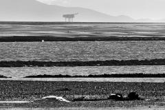 Morecambe Bay Gas Platform From Lytham Ref:2292